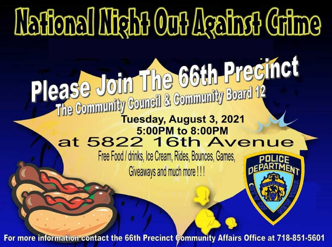 66th Precinct National Night Out Against Crime A Huge Success