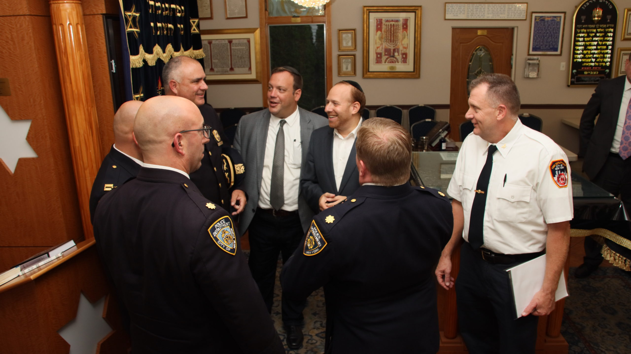 Council of Jewish Organizations – Hosts NYPD Leadership for Pre-Rosh Hashanah Security Meeting