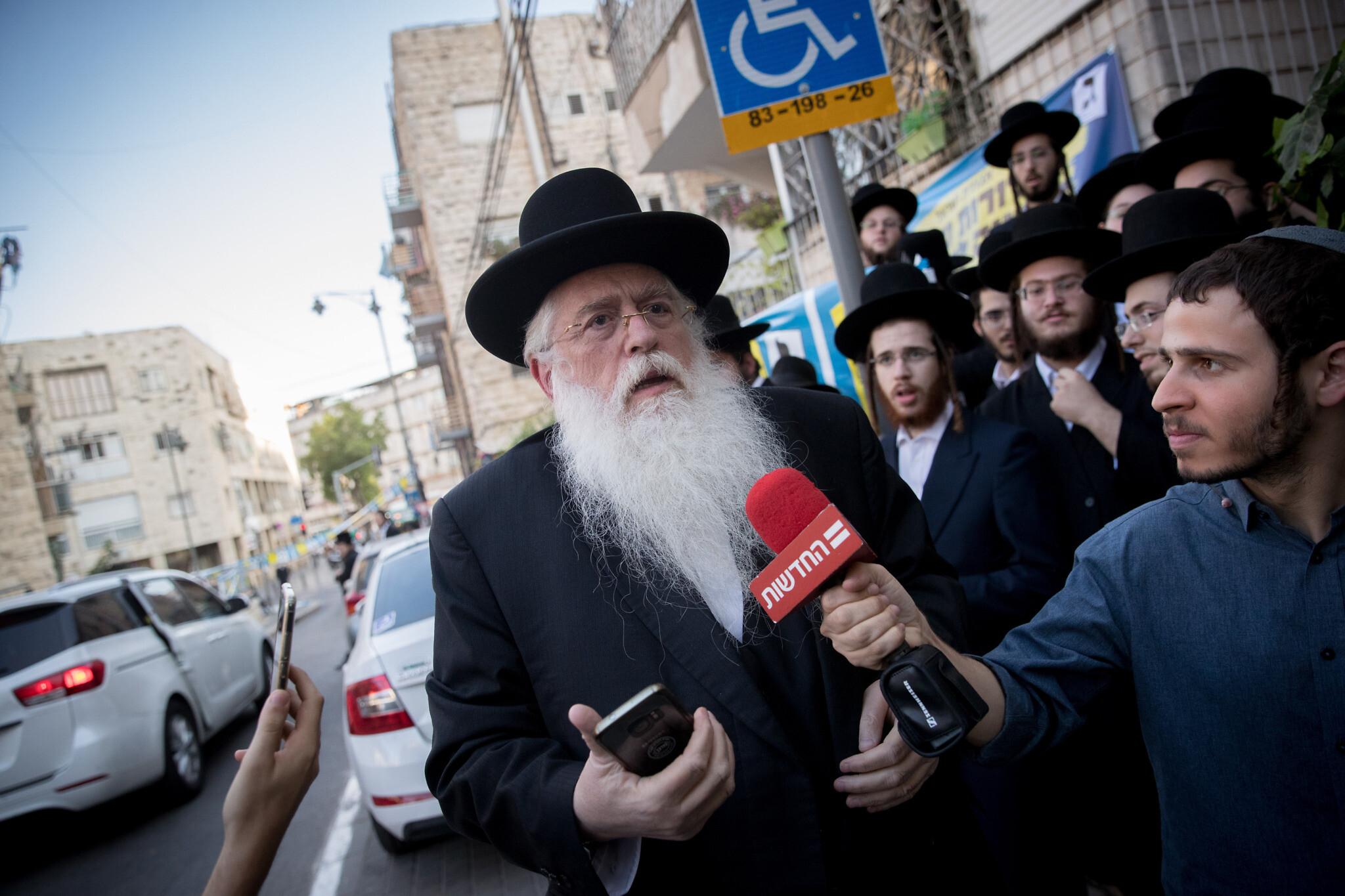 MK Porush Attacked By Israeli Man, Tried Cutting Off His Beard