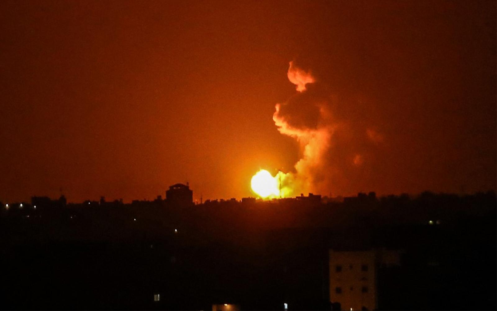 Israel Hits Hamas Sites In Gaza In Retaliation To Rocket Fires