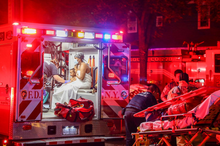 NYC house fire leaves boy, 9 dead and 11 others injured