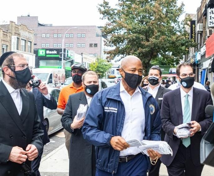 Mayoral Candidate Eric Adams Vows To Transform NYC To Pro-Business If Elected Mayor