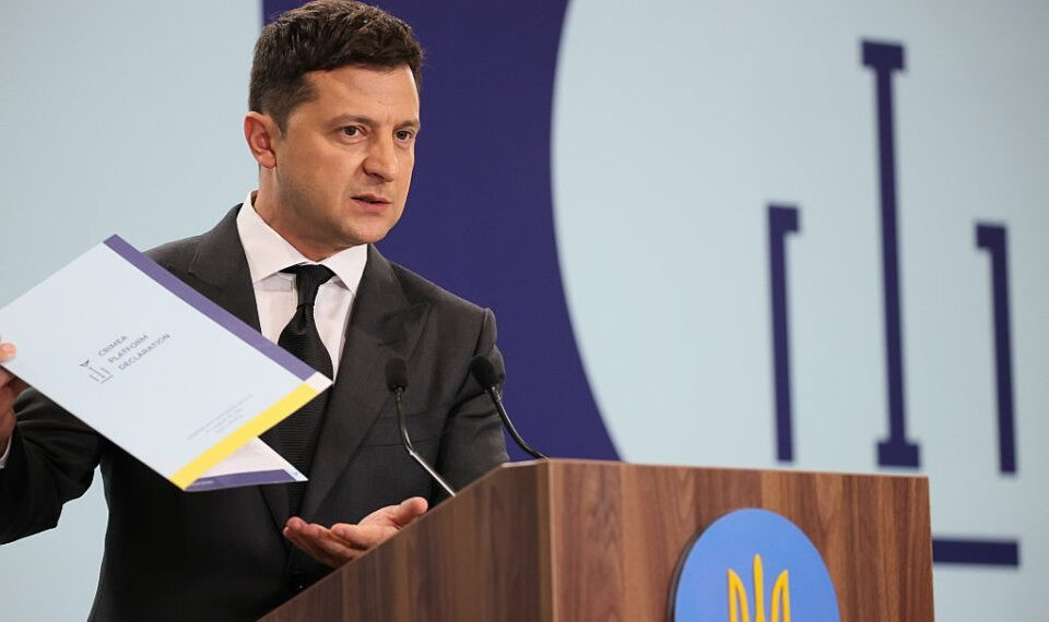 Ukraine Passes Law To Ban Antisemitism