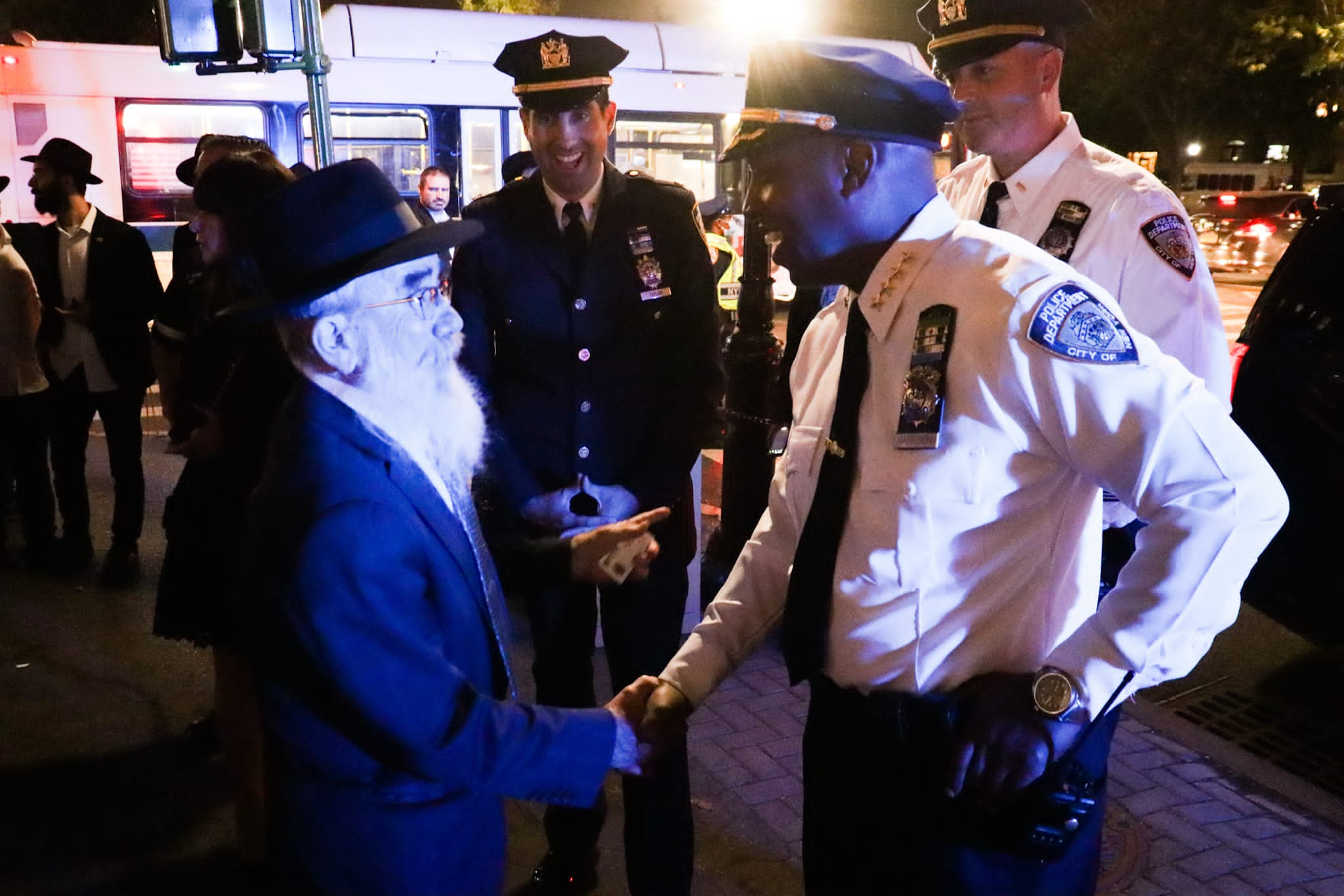NYPD Chiefs Assure Crown Heights Residents They Will Keep Them Safe