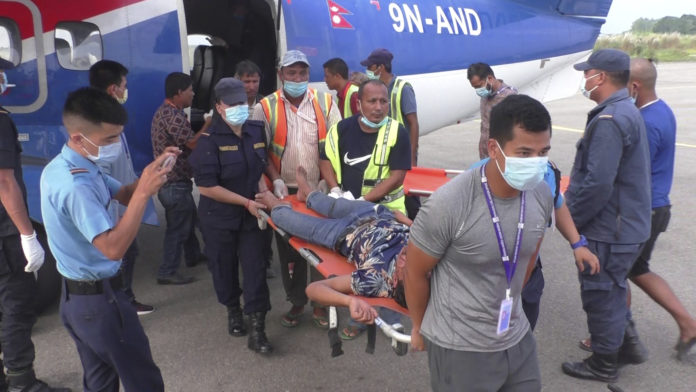 28 dead, 15 injured in a bus accident in rugged Nepal district