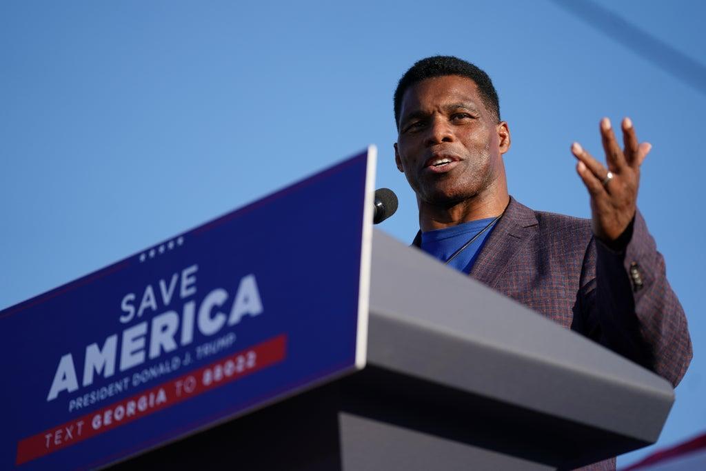 Republican Herschel Walker Cancels Fundraiser After Organiser Posts Picture of Syringes Arranged In Swastika