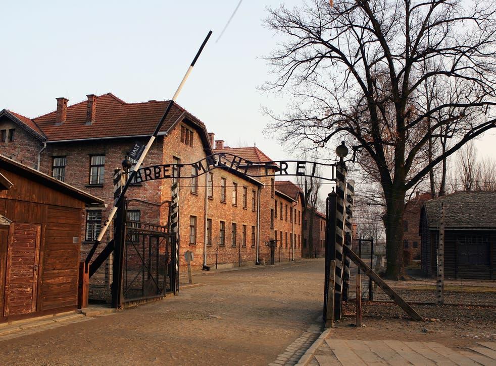 Police Investigate Graffiti Scrawled On Multiple Buildings at The Auschwitz-Birkenau Museum